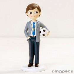 Figura niño Comunión con pelota