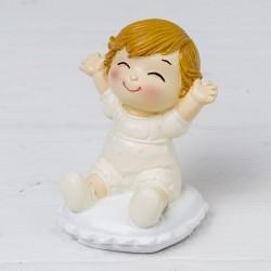 Figura bebé Pop &Fun sentado en cojín