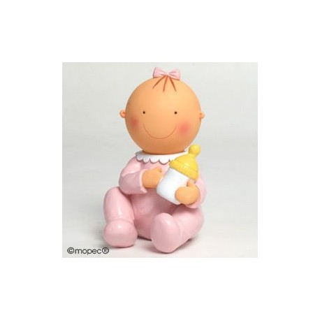 Figura pastel-hucha Pita sentada biberón