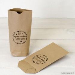 Bolsa Kraft para regalo Los pequeños detalles enamoran
