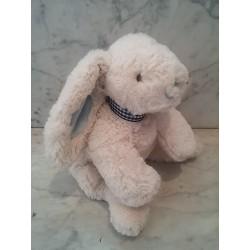 Conejo col. marfil lazo azul