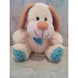 Perro corbata estrellas